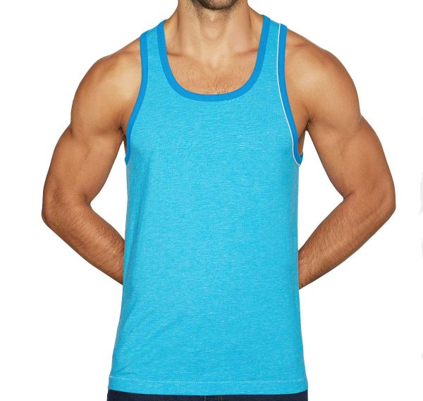 C-IN2 Canotta HAND ME DOWN RELAXED TANK FREDDIE BLUE 1926-411A, blu