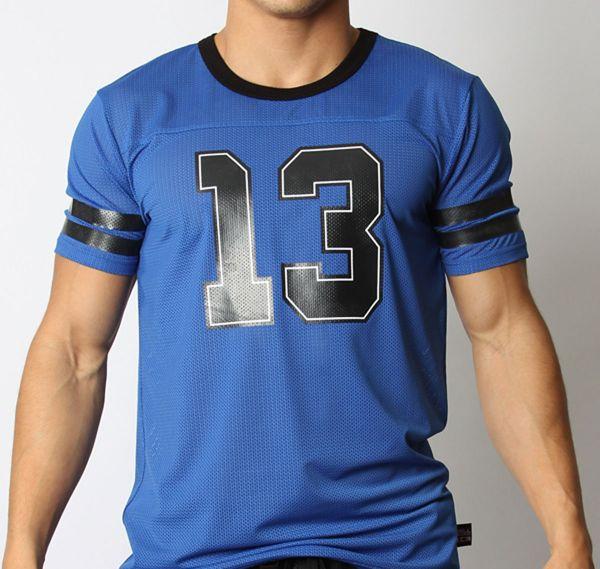 Cellblock 13 T-shirt TAILBACK JERSEY, blau