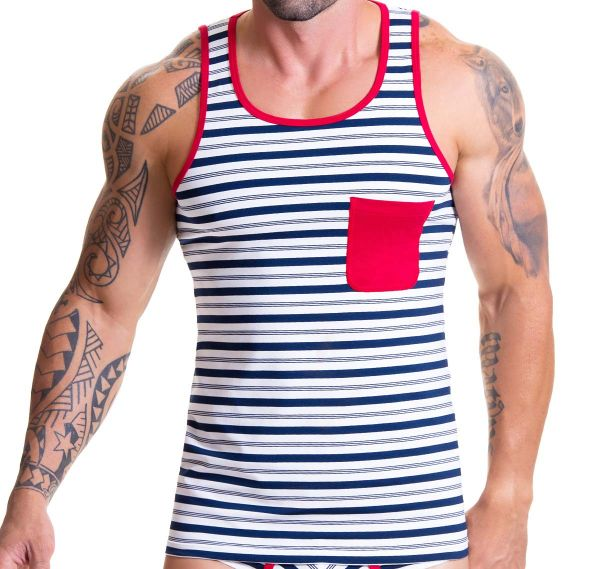 JOR Tank Top NAVAL 0541, navy