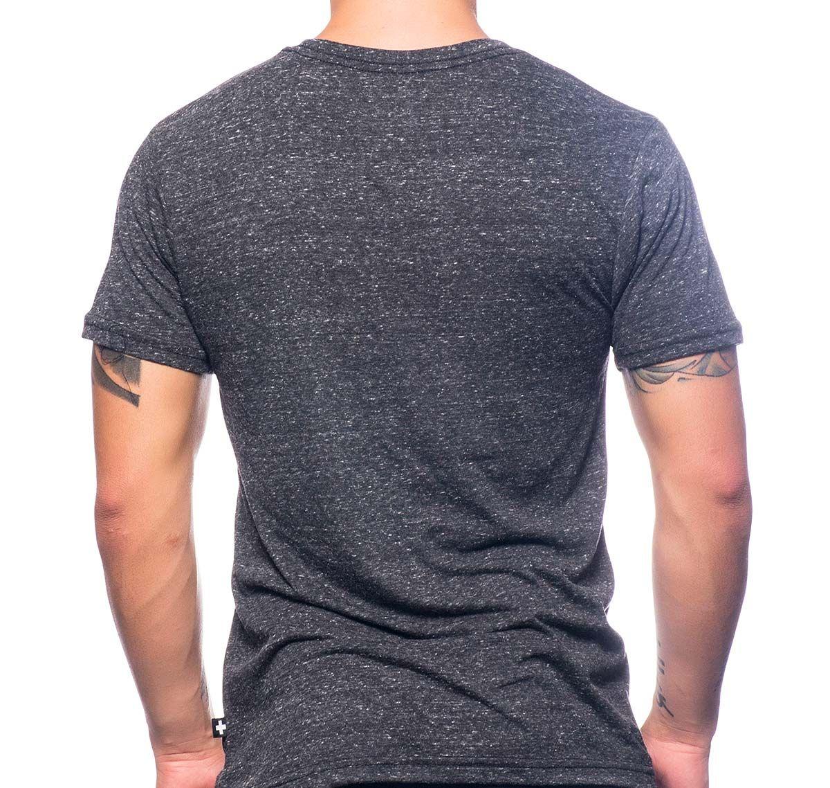 Andrew Christian T-Shirt PIG TEE 10213, grau schwarz