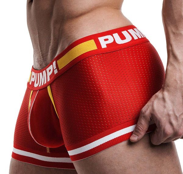 Pump! Boxershort TOUCHDOWN FLASH 11046, rot