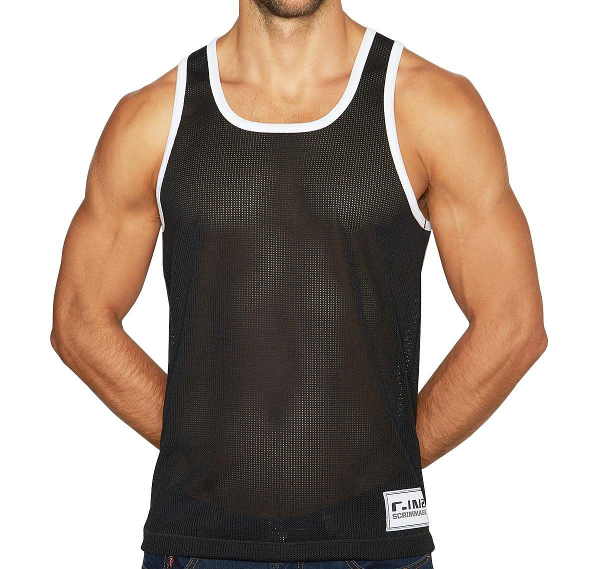 C-IN2 Débardeur SCRIMMAGE RELAXED TANK 6806-002A, noir