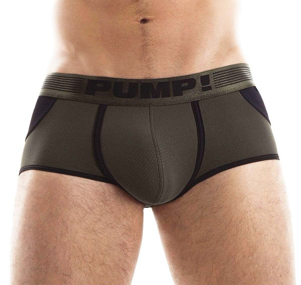 Pump! Jockstrap ACCESS TRUNK 15033, military