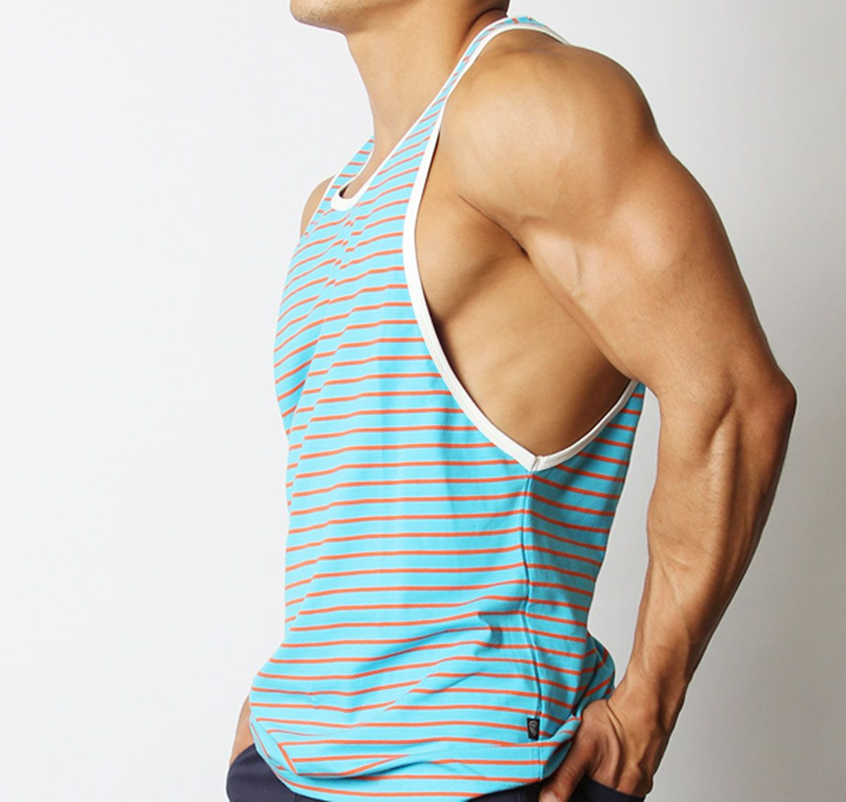 TIMOTEO Tank Top SOUTH BEACH TANK TMS109, lightblue
