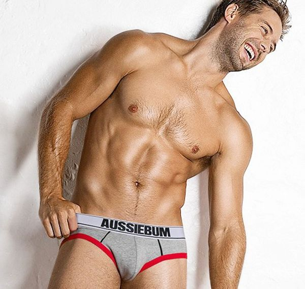 aussieBum Brief HomeRun, grey