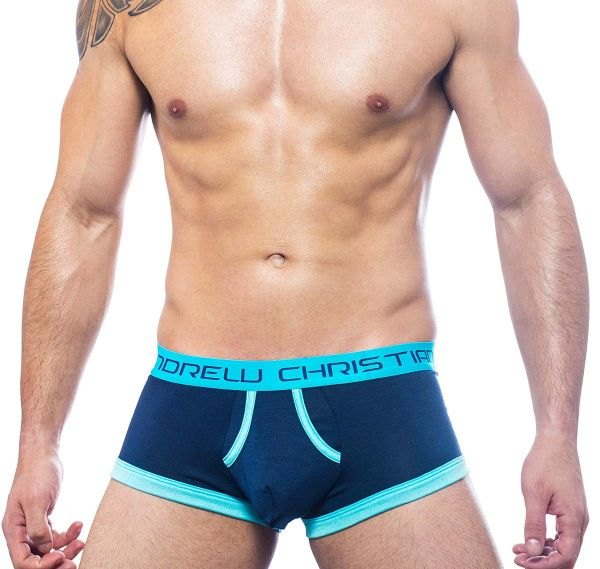 Andrew Christian Boxershorts ALMOST NAKED RETRO BOXER 90884, navy