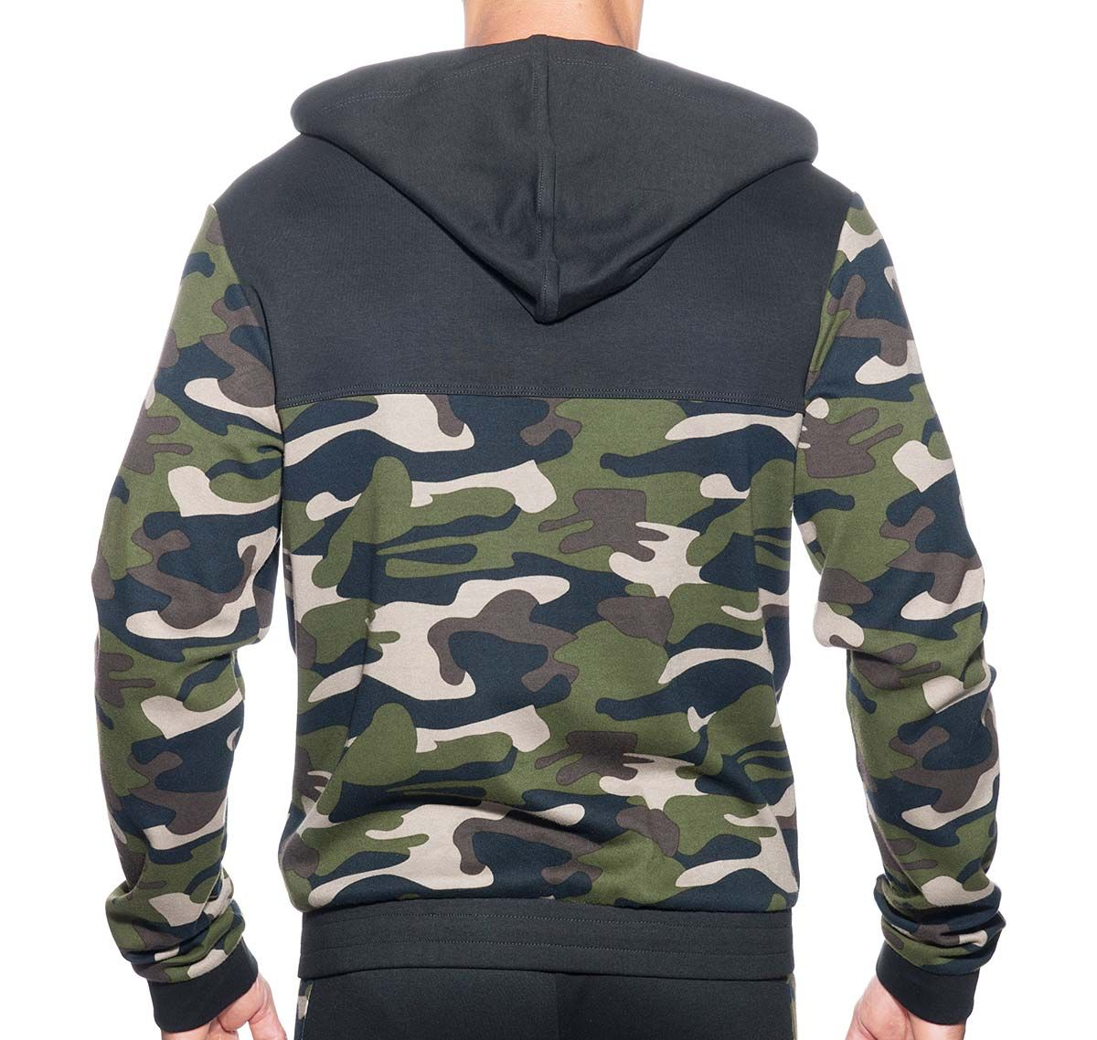 Addicted Jacket SPORT CAMO JACKET AD659, black