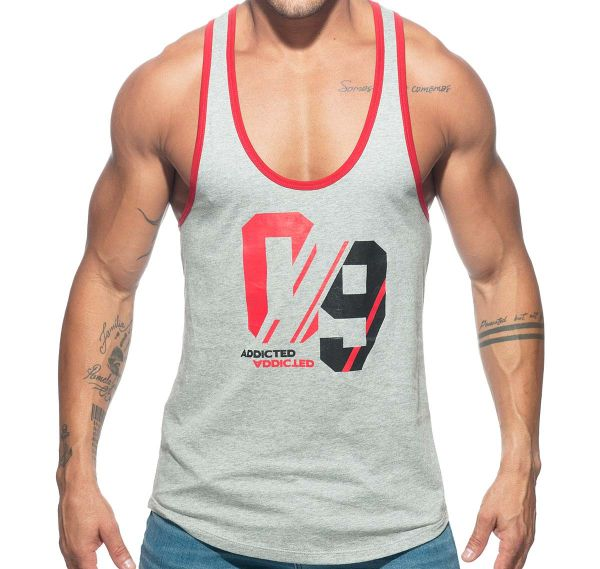Addicted Sportshirt SPORT 09 TANK TOP AD723, grau