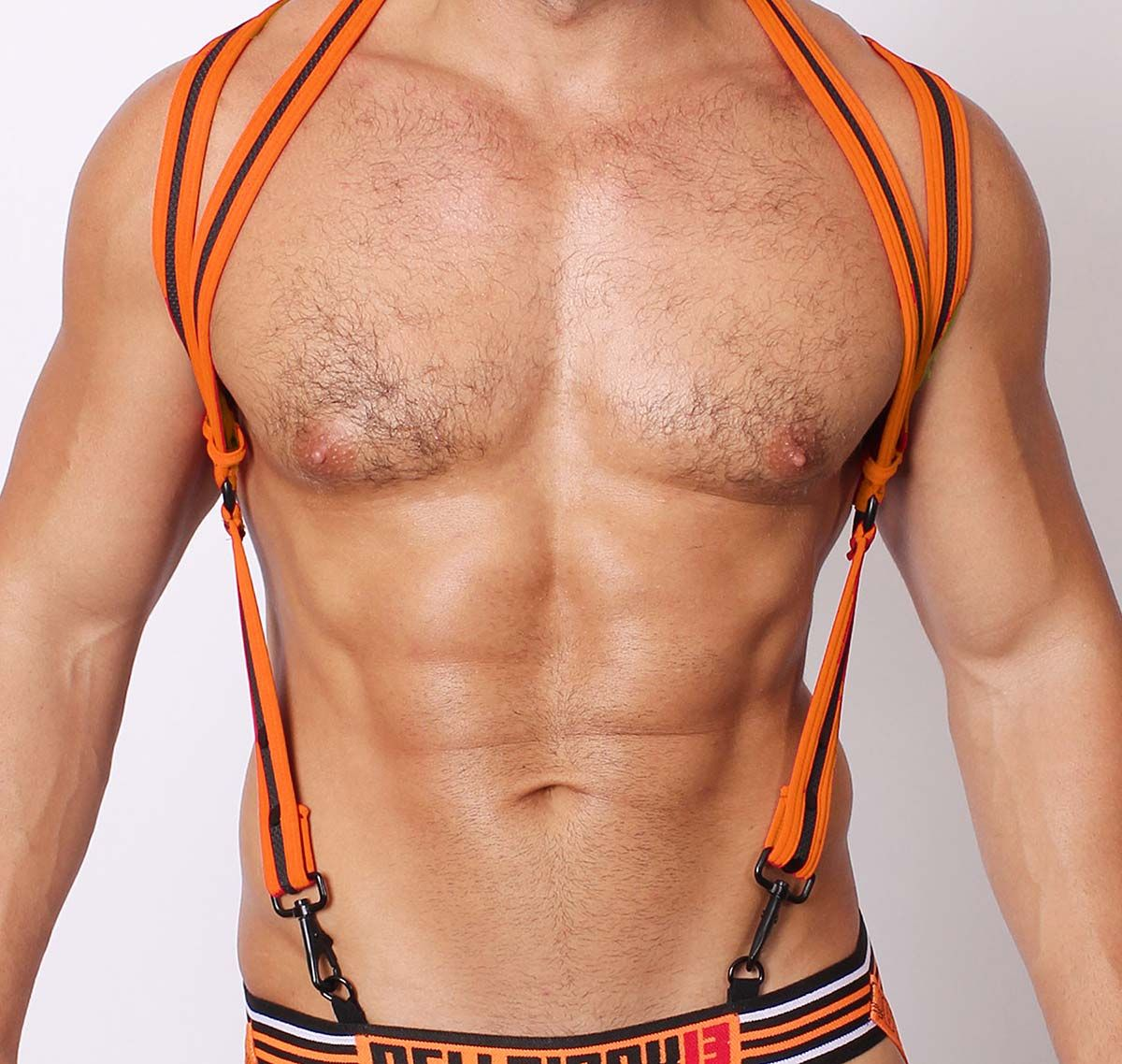 Cellblock 13 Harnais SPIDER NEOPRENE HARNESS, Orange