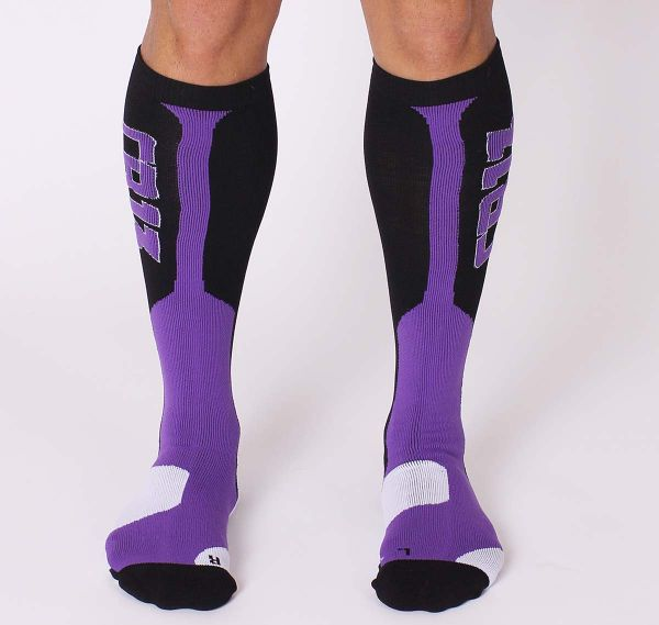 Cellblock 13 Sportsocken ARSENAL KNEE HIGH SOCK, violett