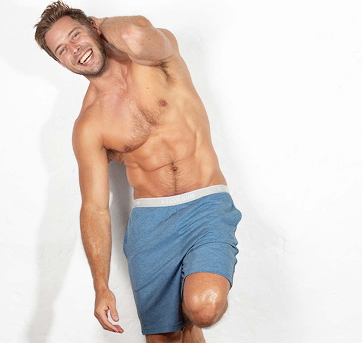 aussieBum Pantalon court BUM AROUND, bleu