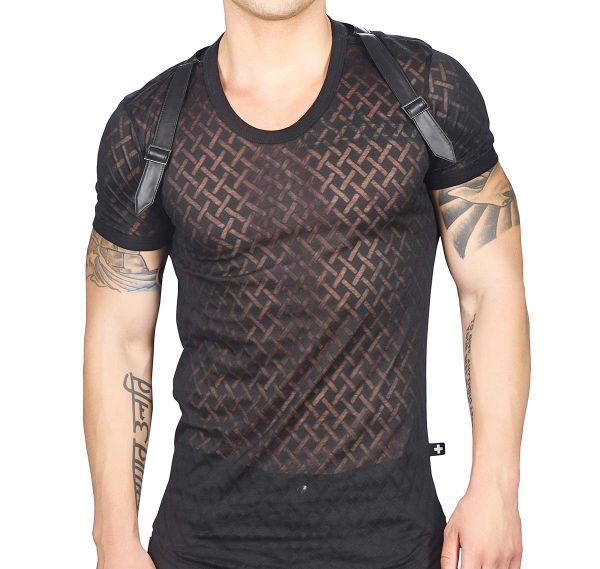 Andrew Christian T-Shirt HARD HARNESS TEE 10258, schwarz