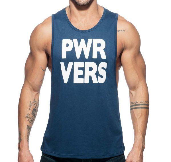 Addicted Sportshirt POWER VERS TANK TOP AD743, navy
