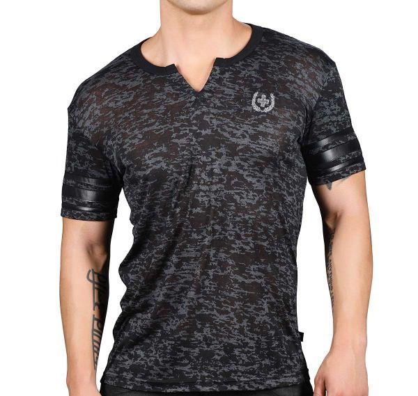 Andrew Christian T-Shirt SLICK CLIP TEE 10240, grau
