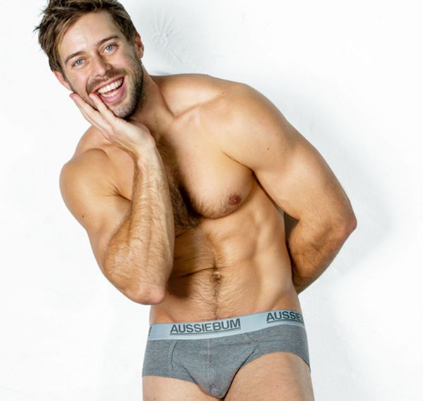 aussieBum Brief COTTONTOUCH MARLE, grey