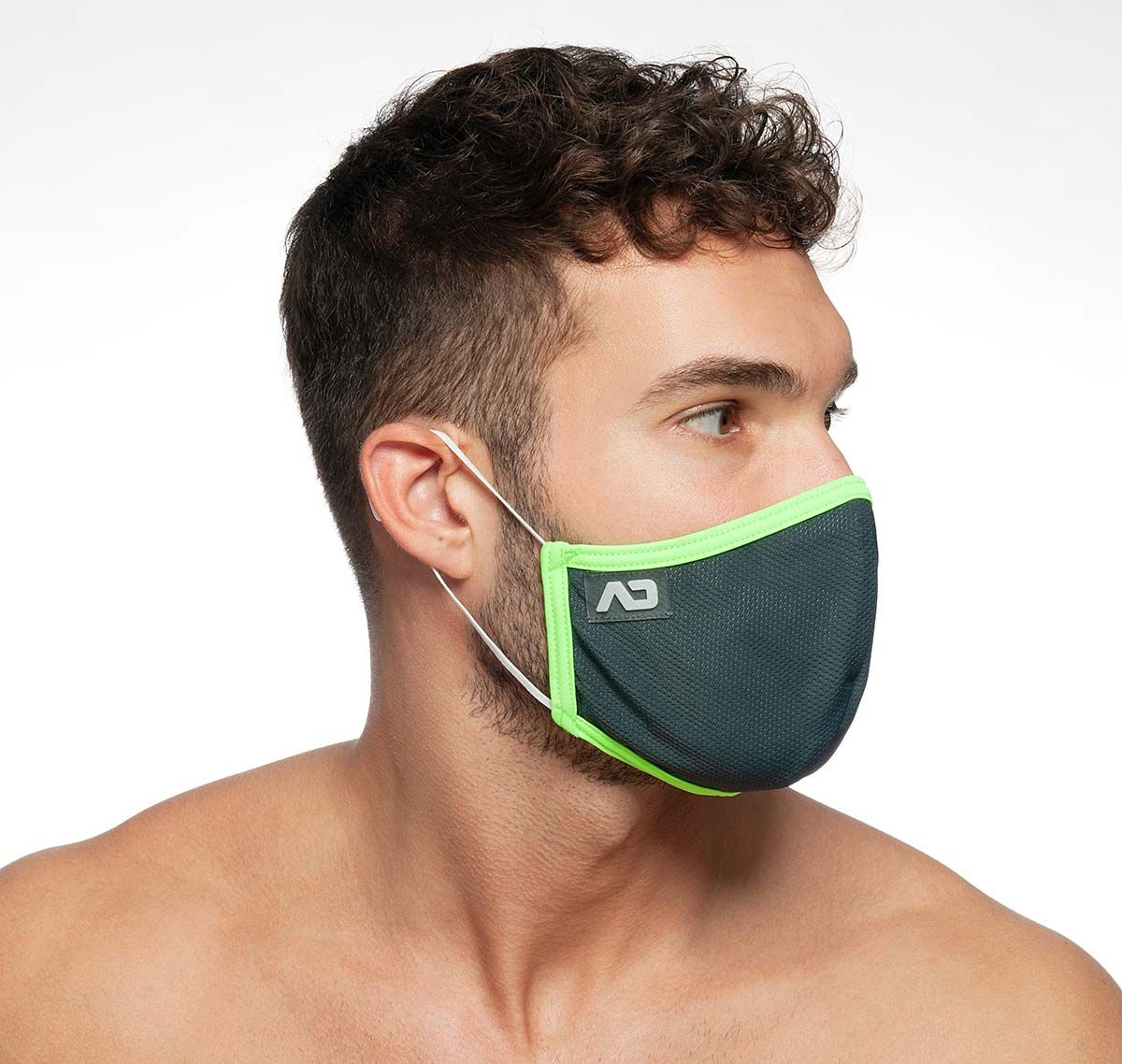 ADDICTED Mascarilla SPIDER MASK AC106, gris