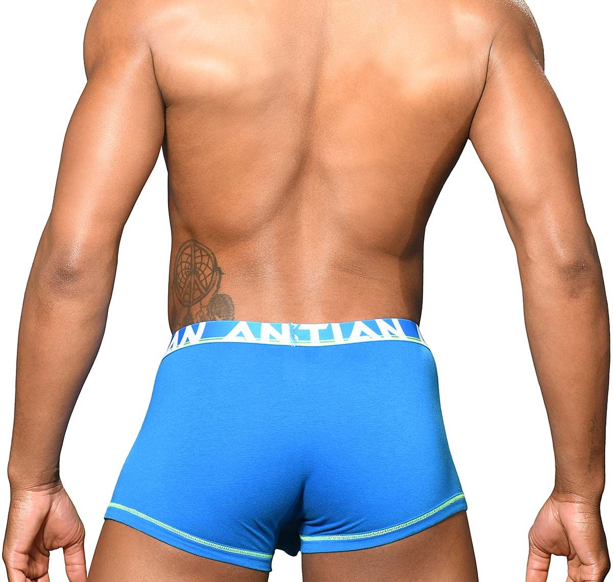Andrew Christian Boxer ALMOST NAKED COTTON BOXER 91738, blu