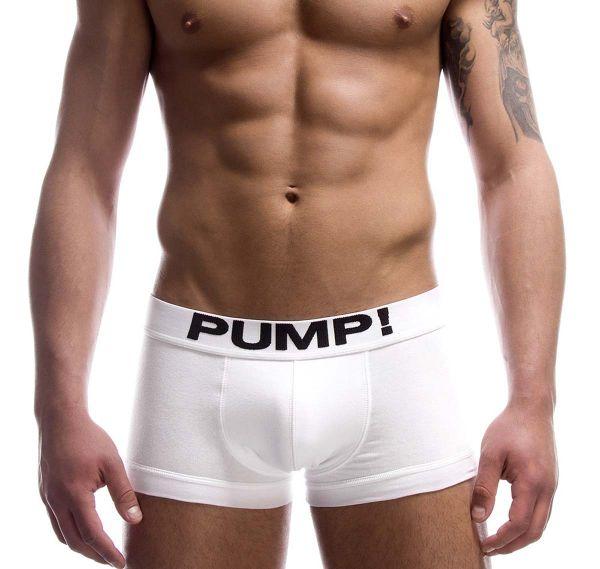 Pump! Boxershorts CLASSIC 11000-01, weiß