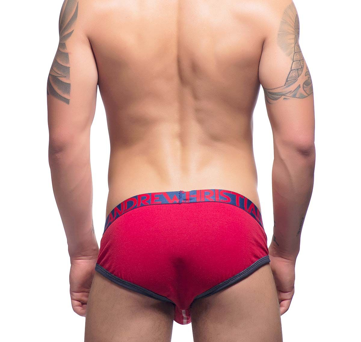 Andrew Christian Slip SHOW-IT TAGLESS BRIEF 90838, rot