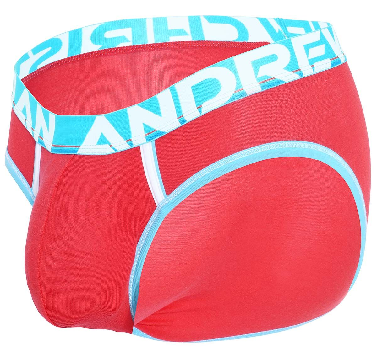 Andrew Christian Slip COOLFLEX ACTIVE MODAL Brief w/Show-It 91786, rosso