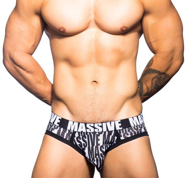 Andrew Christian Slip MASSIVE BOLD MESH BRIEF 90390, mehrfarbig