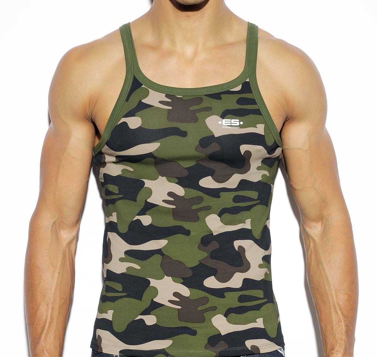ES Collection SUMMER TANK TOP TS187, camouflage