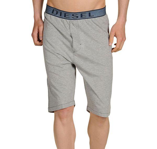 Diesel Herren Loungewear Hose kurz grau