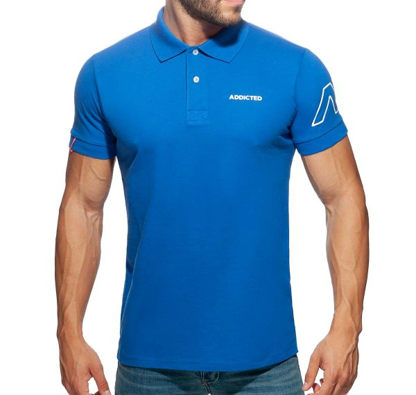 Addicted Poloshirt AD POLO SHIRT AD961, royalblau