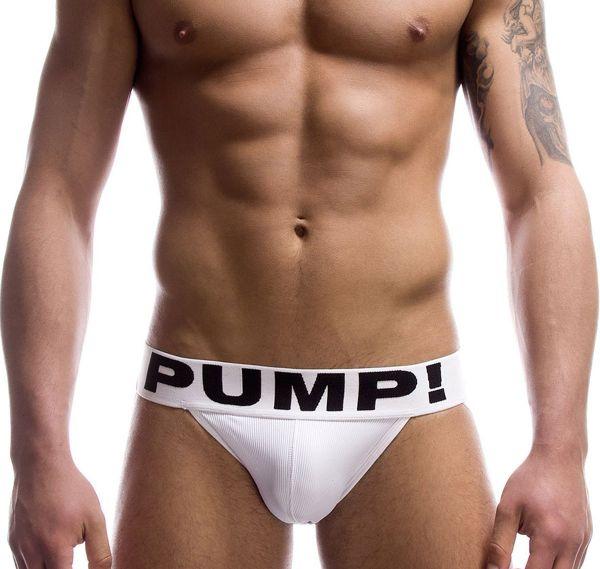 Pump! Männer JOCK 15005, weiss