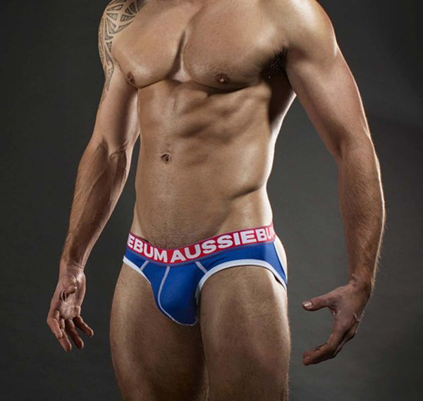 aussieBum Slip LASHER BRIEF EXPOSED, royalblau