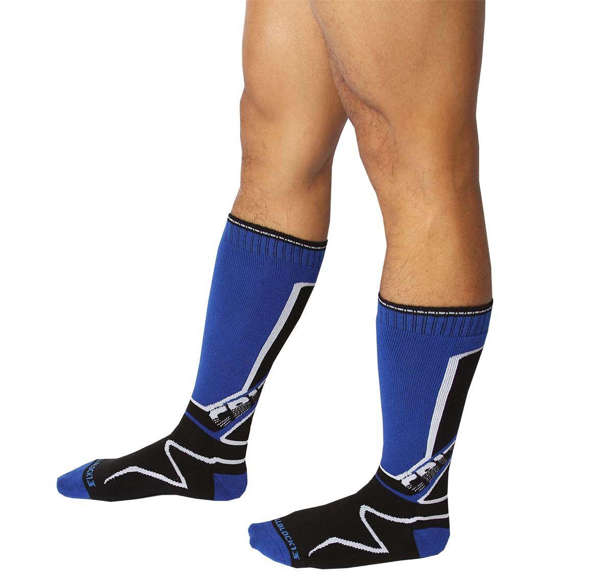 Cellblock 13 Sports socks KENNEL CLUB Mid-Calf SOCK, blue
