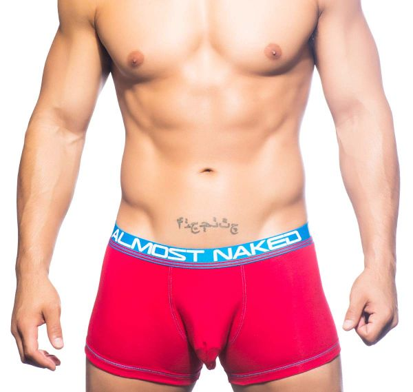 Andrew Christian Boxershorts ALMOST NAKED COTTON BOXER 90468, rot