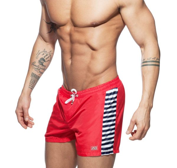 Addicted Badeshorts SAILOR MIX SHORT ADS166, rot