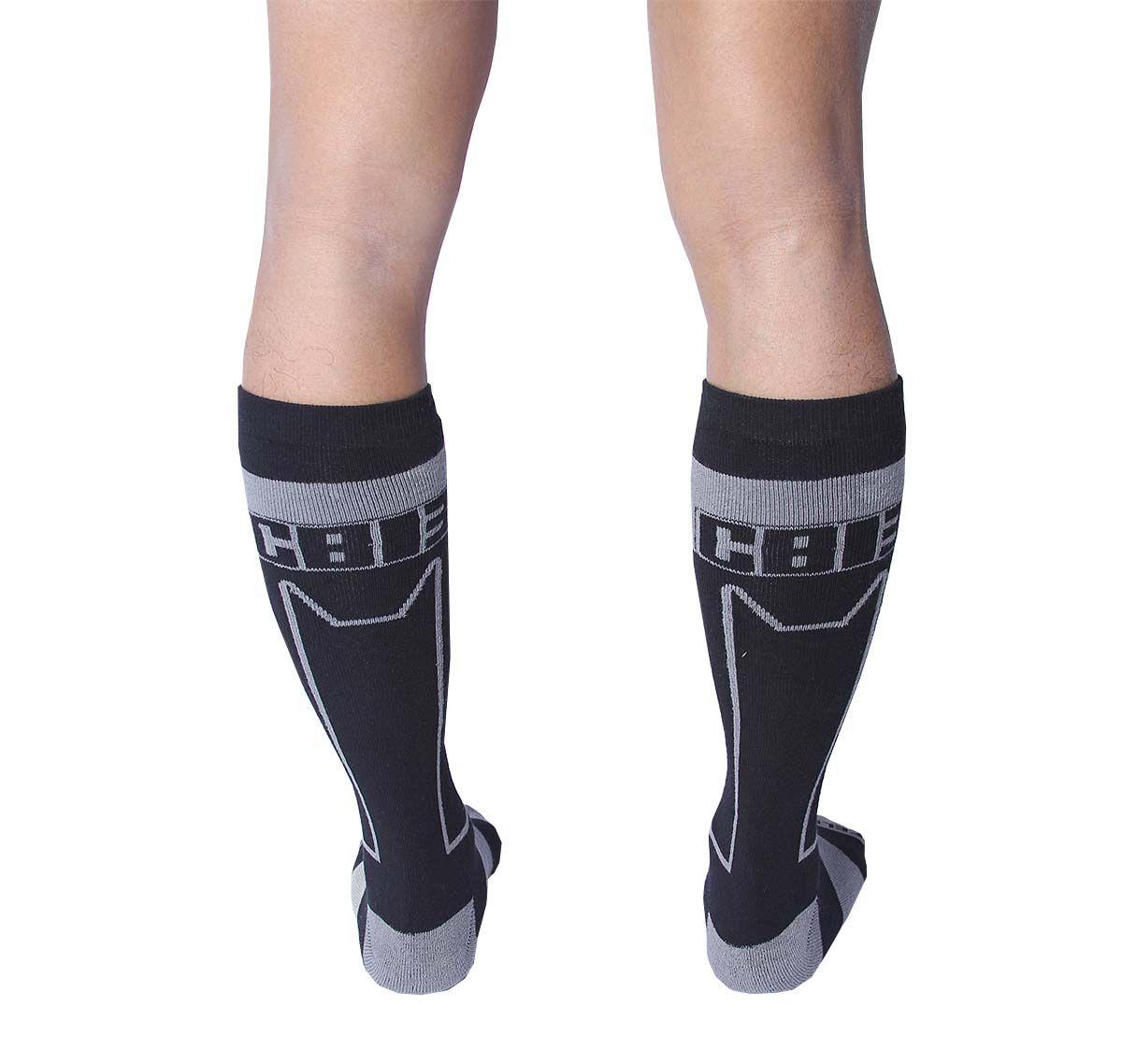 Cellblock 13 Sports socks KENNEL CLUB ALPHA KNEE HIGH SOCK, grey