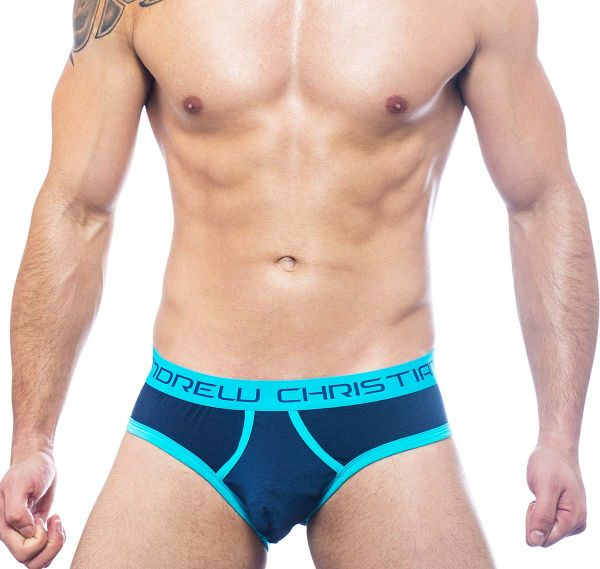 Andrew Christian Slip ALMOST NAKED RETRO BRIEF 90883, navy