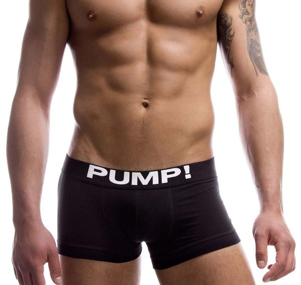 Pump! Boxershorts CLASSIC 11000-02, schwarz