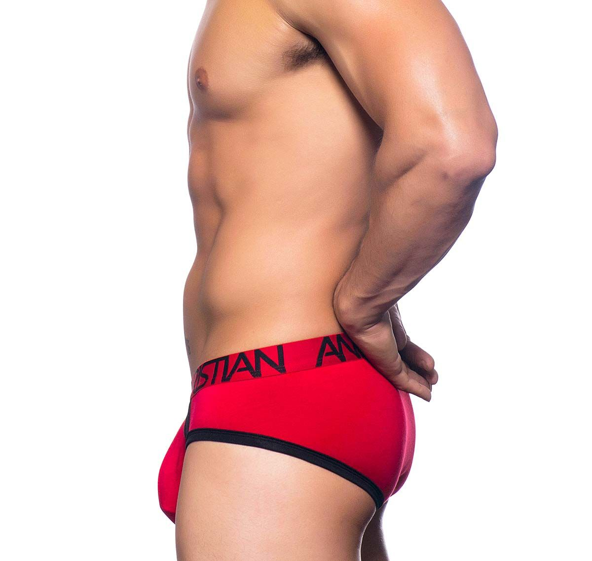 Andrew Christian Slip COOLFLEX ACTIVE BRIEF SHOW-IT 90353, rot