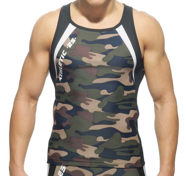 ES Collection RUNNING TANK TOP SP042, camouflage