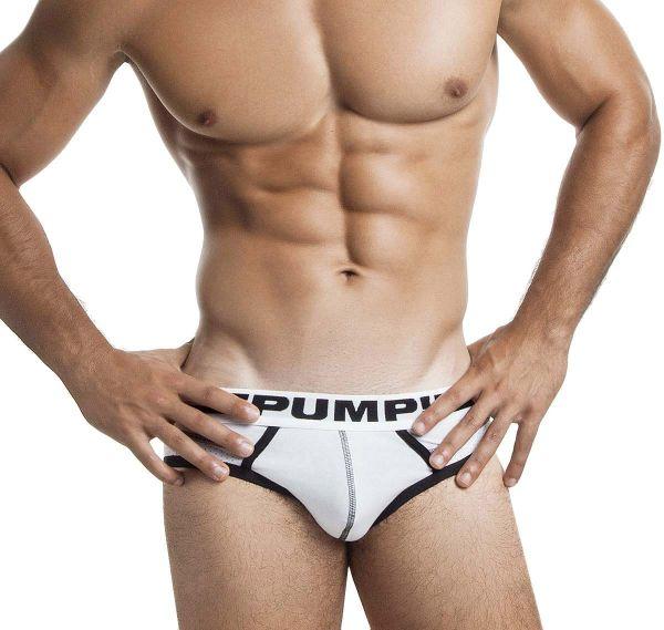 Pump! Slip DROP-KICK BRIEF 12037, weiß