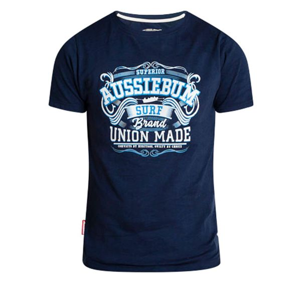 aussieBum T-Shirt DESIGNER UNION, navy