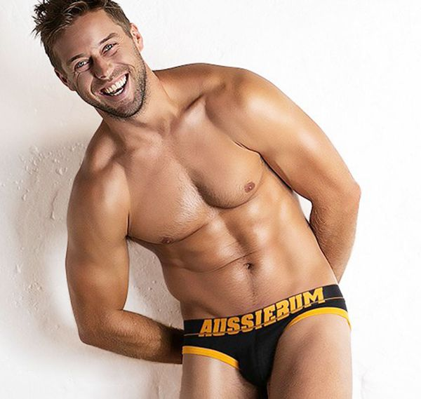 aussieBum Slip TROUBLE BRIEF, gold