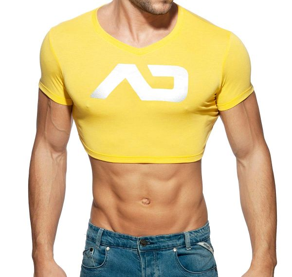 Addicted Crop Top ADDICTED CROP TOP AD819, gelb
