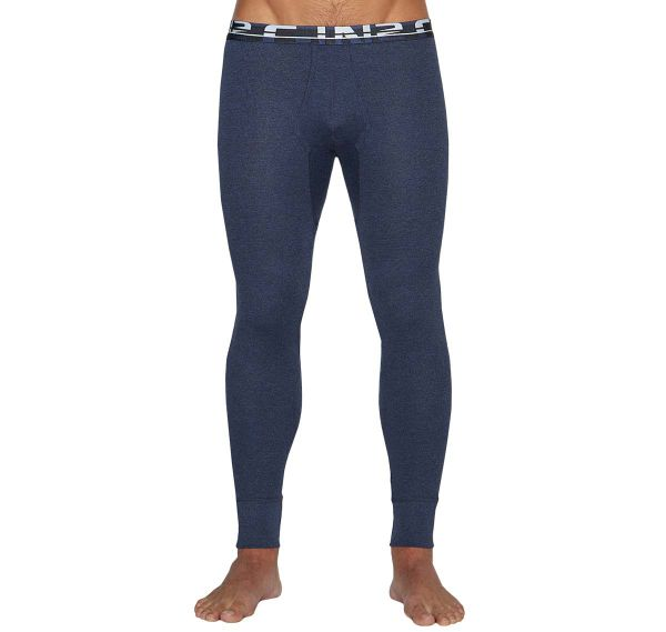 C-IN2 Mutande lunghe BASE LAYER LONG JOHN 7439-076A, navy blu