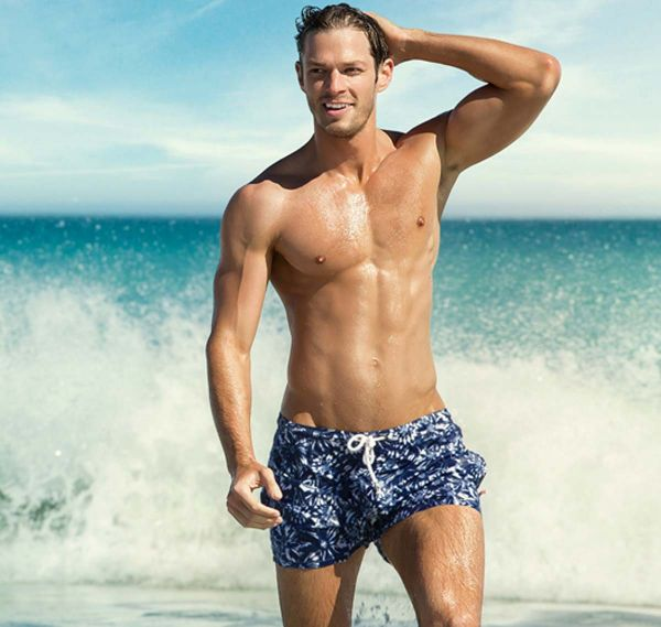 aussieBum Badeshorts BLOOM, navy