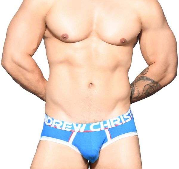 Andrew Christian Slip COOLFLEX ACTIVE MODAL BRIEF w/SHOW-IT 91940, azul