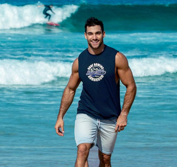 aussieBum Tank Top EDITION Superior, navy