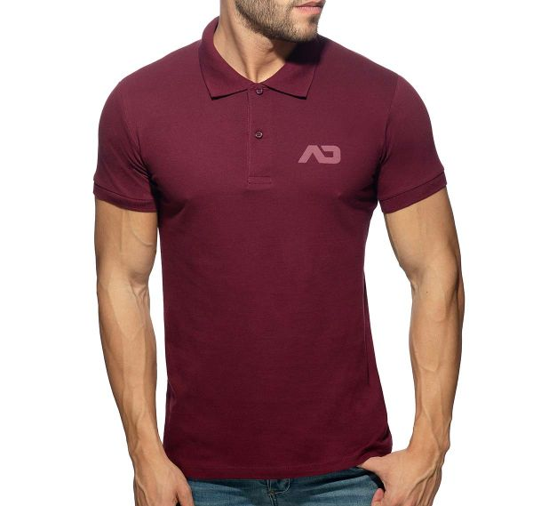 Addicted Poloshirt AD CLASSIC POLO SHIRT AD949, garnet
