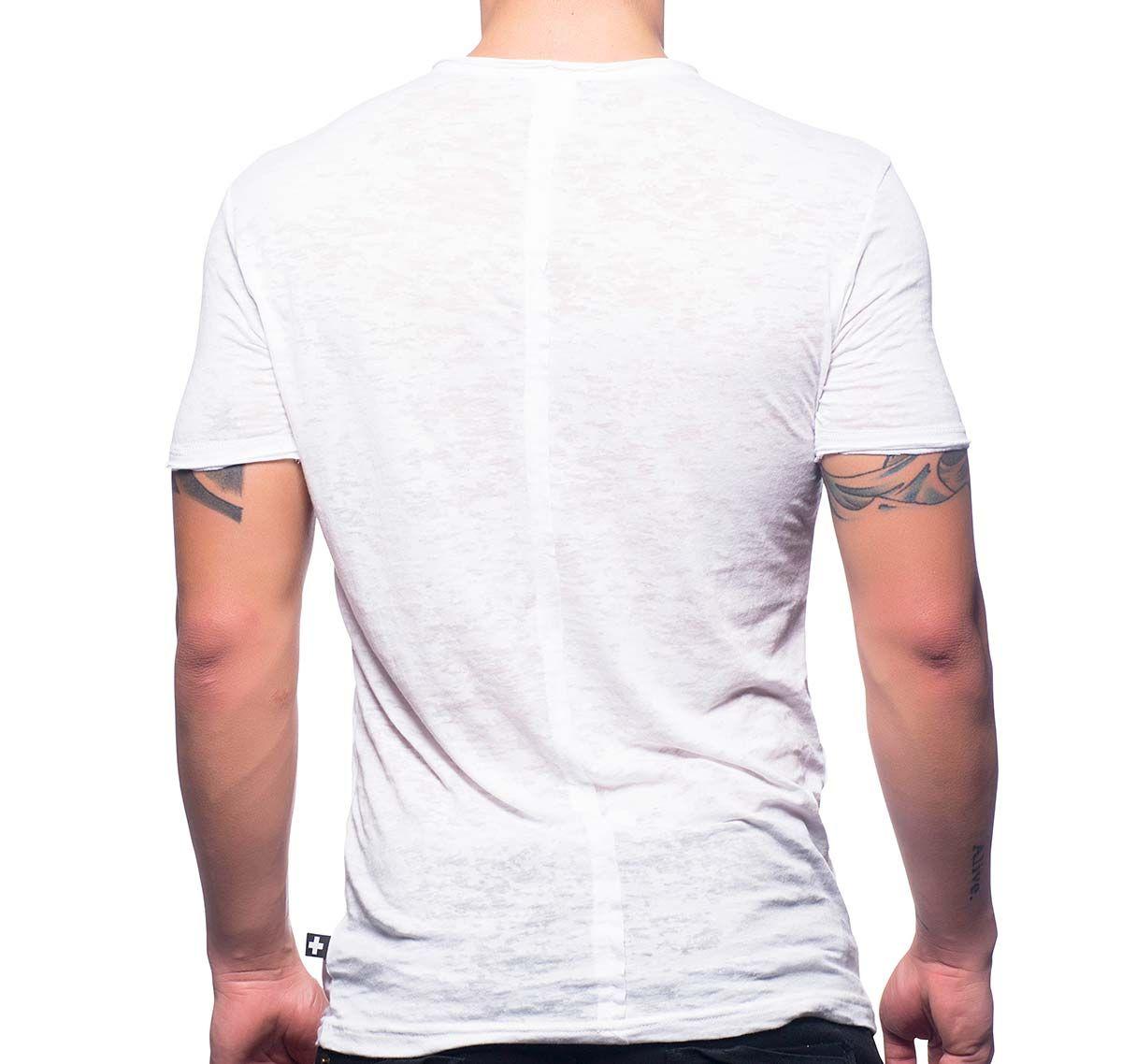 Andrew Christian Camiseta WHITE ARMY TEE 10211, blanco