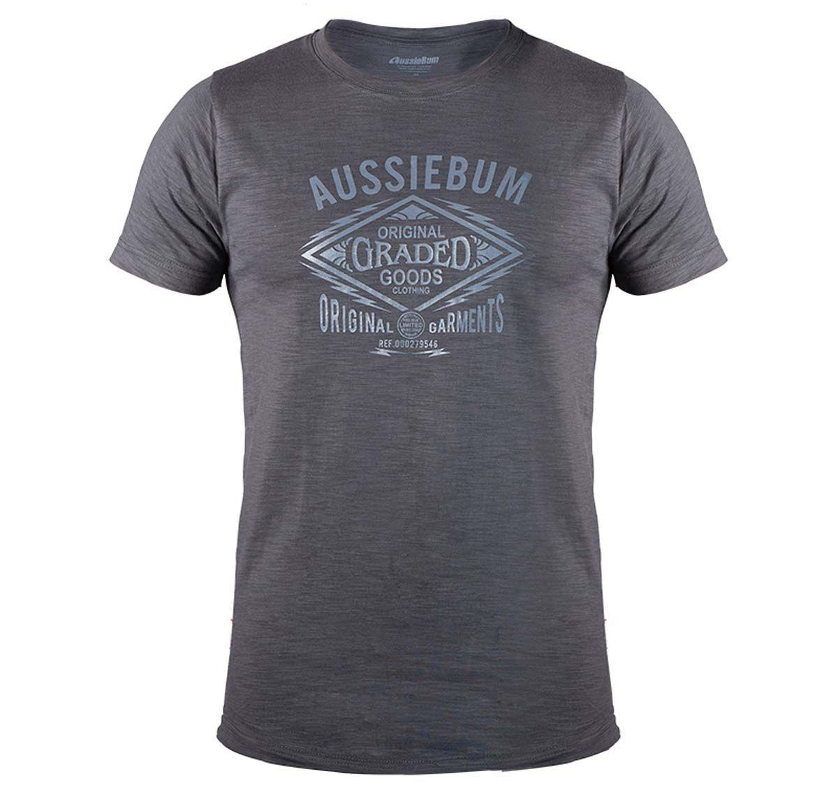 aussieBum T-Shirt DESIGNER TEE GOODS, grey
