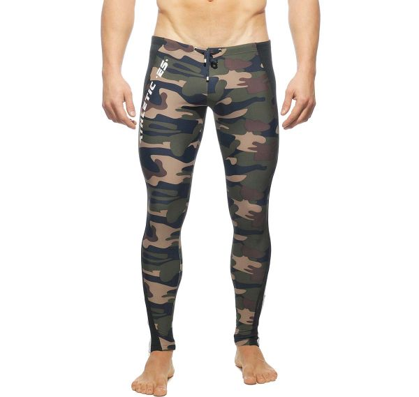 ES Collection RUNNING PANTS SP043, camouflage
